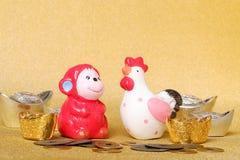 Het Chinese Concept van het Nieuwjaar Royalty-vrije Stock Foto's