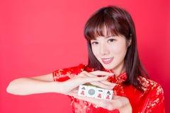 Het Chinese Concept van het Nieuwjaar stock foto