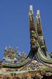 Het Chinese Dak van de Tempel royalty-vrije stock fotografie