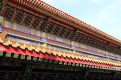 Het Chinese Dak van de Tempel Stock Afbeelding