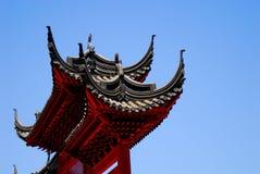 Het Chinese Detail van het Paviljoen Stock Afbeelding