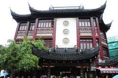 Het Chinese dim sum van Shanghai in Lu BO Lang, Yu-Yuans, Shanghai, China Royalty-vrije Stock Foto