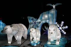 Het Chinese Festival van de Lantaarn stock afbeeldingen