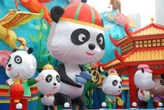 2014 het Chinese festival van de Nieuwjaarlantaarn Royalty-vrije Stock Fotografie