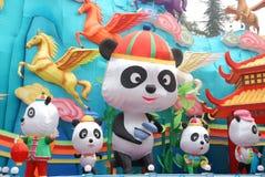 2014 het Chinese festival van de Nieuwjaarlantaarn Royalty-vrije Stock Foto
