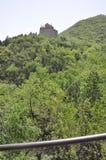 Het Chinese Grote landschap van de Muurbuurt bij Juyongguan-Pas royalty-vrije stock foto's