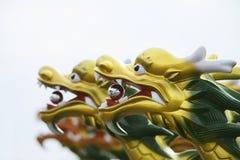 Het Chinese Hoofd van de Draak Stock Fotografie
