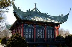 Het Chinese Huis van de Thee Stock Foto