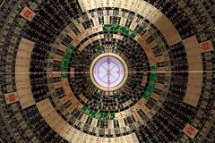 Het Chinese kompas van fengshui Stock Fotografie