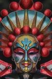 Het Chinese masker van het Nieuwjaar stock afbeeldingen