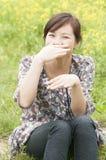 Chinees mooi meisje Royalty-vrije Stock Afbeeldingen