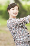 Chinees mooi meisje Stock Afbeelding