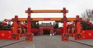 Het Chinese Nieuwjaar of Festival van de Lente. Het jaar van t Stock Foto