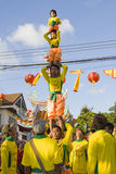 Het Chinese Nieuwjaar op 14 Februari, 2010 Royalty-vrije Stock Fotografie
