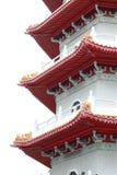 Het Chinese omhoog-Sluiten van de Pagode Stock Afbeeldingen