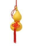 Het Chinese ornament van de flessenpompoen Stock Afbeeldingen