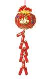 Het Chinese Ornament van het Nieuwjaar Stock Foto