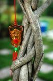 Het Chinese Ornament van het Nieuwjaar Stock Afbeelding