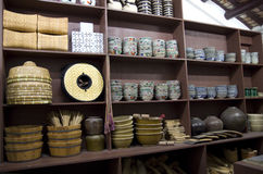 Het Chinese oude Museum Hong Kong van de huiserfenis Stock Foto