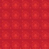 Het Chinese Patroon van het Nieuwjaar Royalty-vrije Stock Afbeelding