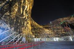 Het Chinese Spaanse Paviljoen van 2010 voor de Wereld Expo van Shanghai Royalty-vrije Stock Foto's