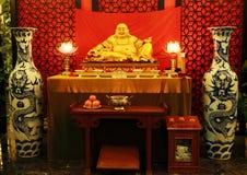Het Chinese standbeeld van Boedha Royalty-vrije Stock Afbeelding
