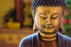 Het Chinese standbeeld van Boedha Stock Foto's