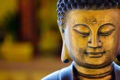 Het Chinese standbeeld van Boedha Royalty-vrije Stock Afbeeldingen
