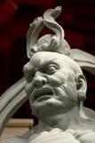 Het Chinese Standbeeld van de God van de Tempel Stock Foto's