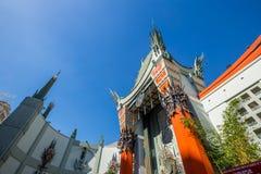 Het Chinese Theater van Grauman Stock Foto