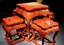 Het Chinese traditionele leveren - het Paleismuseum Stock Afbeelding