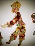 Het Chinese traditionele schaduwknipsel toont royalty-vrije stock foto
