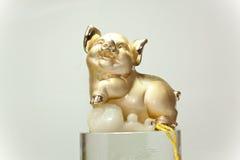 Het Chinese Varken van de Dierenriem Royalty-vrije Stock Afbeeldingen