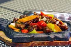 Het Chinese voedsel van het eendvlees stock afbeeldingen