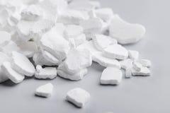 Het Chloride van het calcium royalty-vrije stock foto's