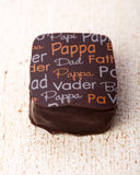 Het chocoladesuikergoed Stock Afbeeldingen