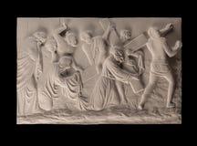 Het christelijke beeld van de pleisterhulp royalty-vrije stock fotografie