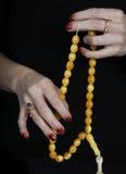Het christelijke gelovige bidden Royalty-vrije Stock Afbeeldingen
