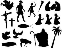 Het christelijke leven Stock Afbeeldingen