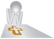 Het Christendom van de godsdienst stock illustratie