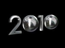 het chroom van 2010 Vector Illustratie