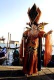 Het cijfer Italië van Carnaval stock afbeeldingen