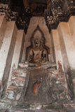 Het cijfer van Boedha van de zitting stock afbeelding