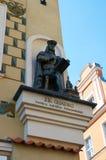 Het cijfer van de architect J B Quadro poznan Stock Foto