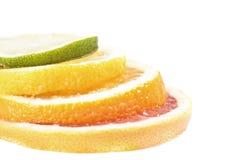 Het cijfer van de citrusvrucht Royalty-vrije Stock Afbeeldingen
