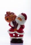 Het cijfer van de Kerstman Royalty-vrije Stock Afbeeldingen