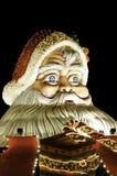 Het cijfer van de Kerstman. Openlucht Royalty-vrije Stock Foto