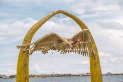Het cijfer van de rietcondor stock afbeelding