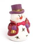 Het cijfer van de sneeuwman Royalty-vrije Stock Afbeelding