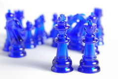 Het cijfer van het schaak Stock Foto's